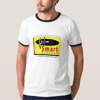 Get Smart Records-Grey/Ringer T T-Shirt