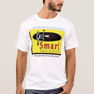 Get Smart Records-white T-Shirt