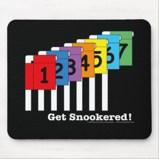 Get Snookered! Mouse Pad