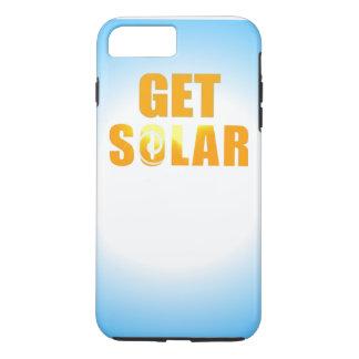 Get Solar Logo Ecofriendly Solar Energy Phone iPhone 7 Plus Case