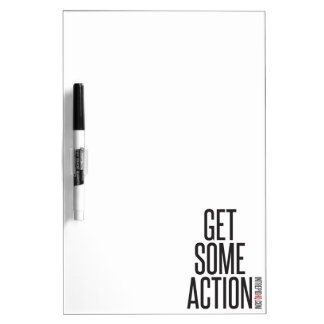 Get Some Action Dry Erase Board