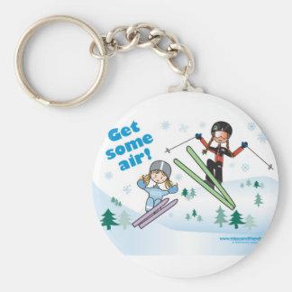 Get some air! keychain