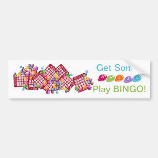 Get Some BALLS PLay BINGO Bumper Sticker
