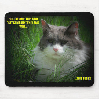 Get some sun? mouse pad