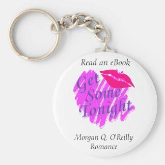 Get Some Tonight Key Ring Basic Round Button Keychain