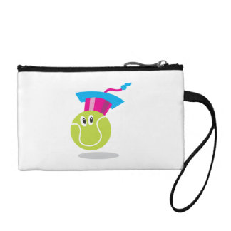 Get Sporty_Tennis_Bouncee™ smiling tennis ball Change Purse