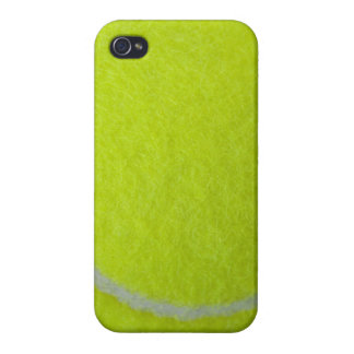 Get Sporty_Tennis_Fuzzy Ball Design iPhone 4 Covers