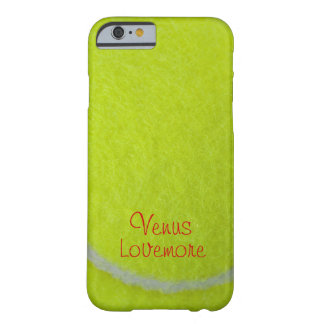 Get Sporty_Tennis_Fuzzy Ball Design personalized Barely There iPhone 6 Case