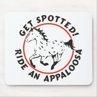 Get Spotted Leopard Appaloosa Mouse Pad