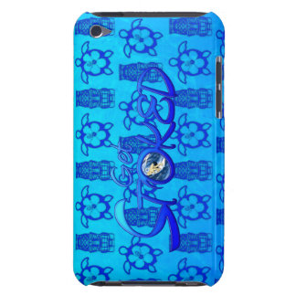 Get Stoked Hawaiian Surfing iPod Touch Case-Mate Case