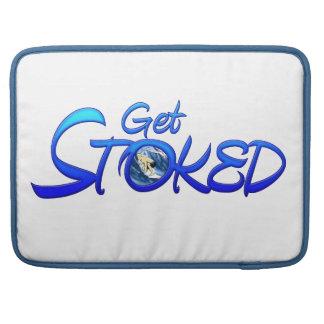 Get Stoked MacBook Pro Sleeve