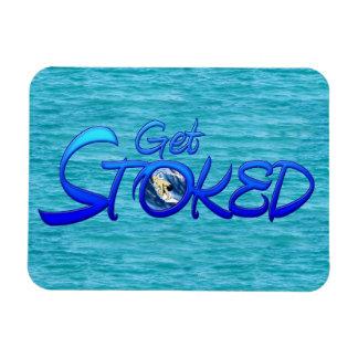 Get Stoked Rectangular Photo Magnet