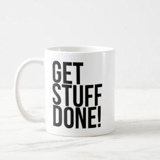 Get Stuff Done Coffee Mug