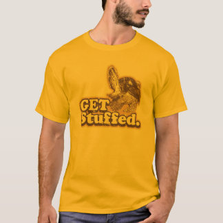 Get Stuffed Funny Thanksgiving Basic T-Shirt