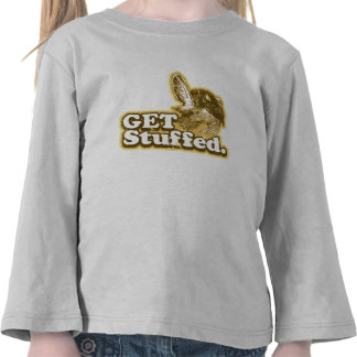 Get Stuffed Funny Thanksgiving Toddler long sleeve Tee Shirts