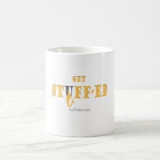 Get Stuffed mug