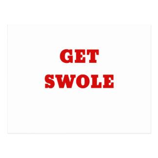 Get Swole Postcard