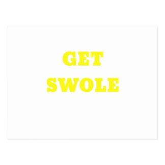 Get Swole Post Card