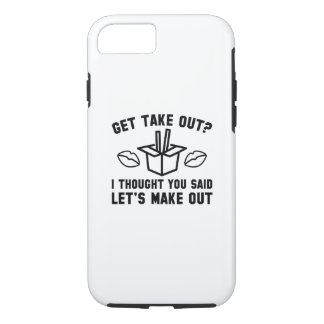 Get Take Out iPhone 8/7 Case