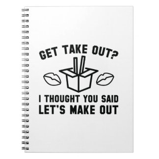 Get Take Out Notebook