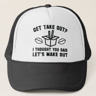 Get Take Out Trucker Hat