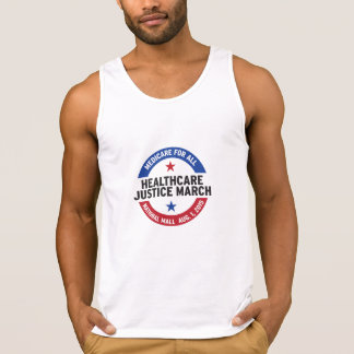 """Get """"tanked"""" for the Healthcare Justice March! Tank Top"""