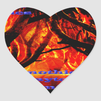 Get The Dark Road From the Wanderer on Everything Heart Sticker