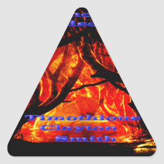 Get The Dark Road From the Wanderer on Everything Triangle Sticker