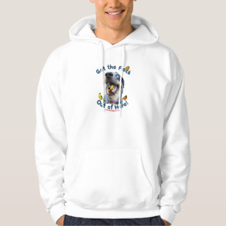 Get the Flock Out Of Here Dog Hooded Pullover