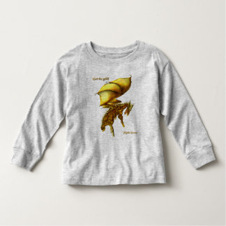 Get the Gold Toddler Long Sleeve Shirt