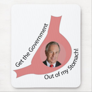Get the Government Out of My Stomach! Mouse Pad