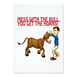 Get The Horns Card