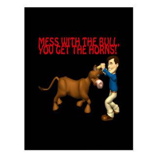 Get The Horns Postcard