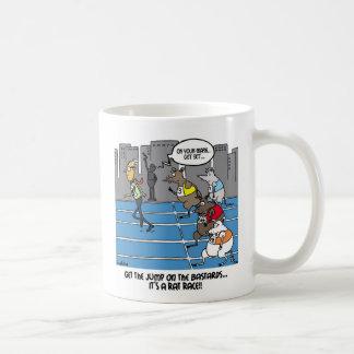 Get the jump on the field... coffee mug
