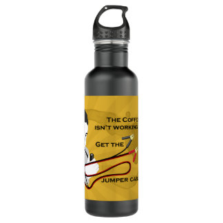 Get the Jumper Cables! Liberty Bottle 24oz Water Bottle