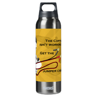 Get the Jumper Cables! Liberty Bottle 16 Oz Insulated SIGG Thermos Water Bottle