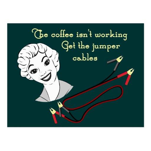 Get the Jumper Cables Recipe Card Postcard