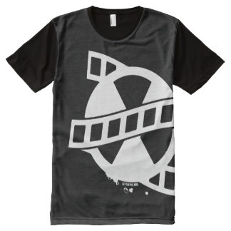 Get The Pix Production All Over Logo All-Over-Print T-Shirt