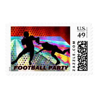 Get the Quarterback Football Party Postage Stamp