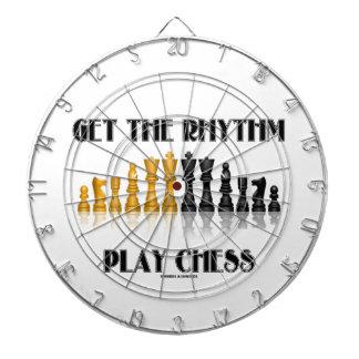 Get The Rhythm Play Chess (Reflective Chess Set) Dartboard