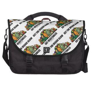Get The Veggie Glow Eat Vegetables Commuter Bags