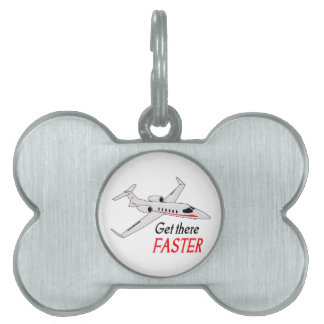Get There Faster Pet ID Tag
