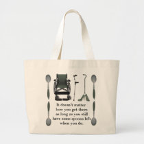 Get There Large Tote Bag