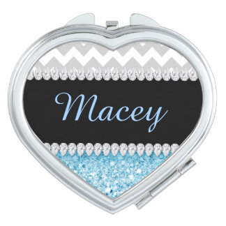 Get this Diamond Design Compact Case! Compact Mirrors