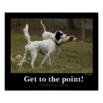 Get to the point!- Bisous & Brady Poster