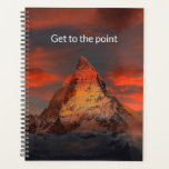 "Get to the point planner<br><div class=""desc"">Define your goals and be objective. Use this planner to remind you to get to the point.</div>"