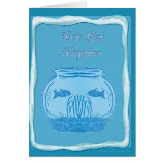 Get Together II Greeting Card