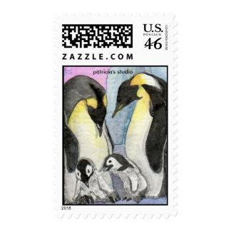 Get Together Penguin Art Stamps