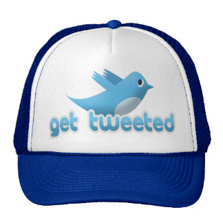 Get Tweeted Twitter Bird Trucker Hat