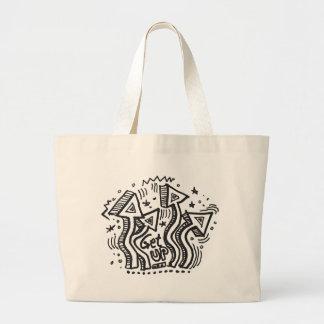Get Up 1 Large Tote Bag